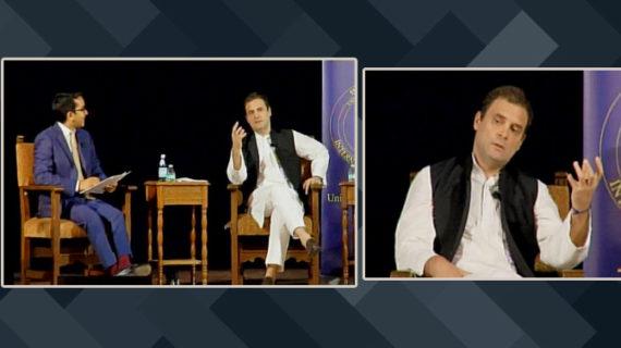 परिवारवाद पर खुद को घिरता देख राहुल ने गिनाए अंबानी-अभिषेक के नाम