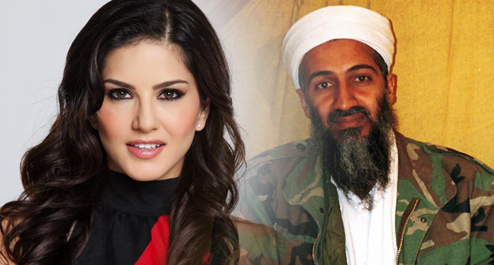 sunny leone and osama bin laden