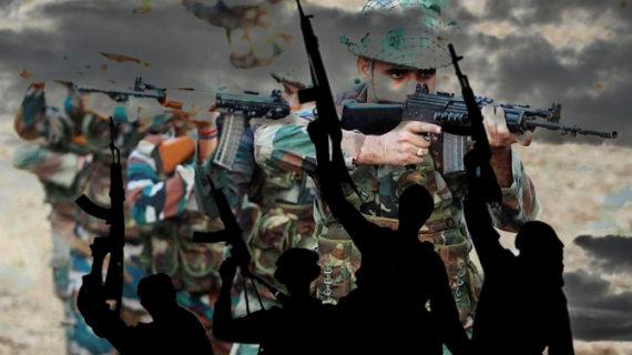 जम्मू-कश्मीर- शोपियां में सुरक्षाबलों ने आतंकियों को घेरा
