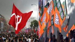 खींची राजनीति की तलवारे,  माकपा-बीजेपी एक दूसरे के गढ़ में करा रही हैं अपनी उपस्थिति दर्ज
