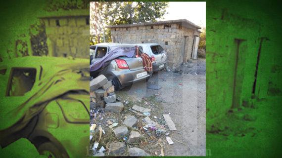 पाक ने फिर किया सीजफायर उल्लंघन, कई गाड़ियों को पहुंचा नुकसान