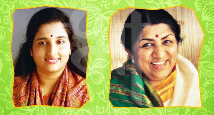 anuradha paudwal and lata mangeshkar