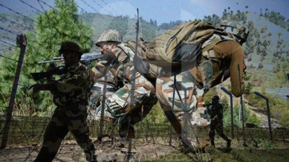 पाक ने फिर किया सीजफायर का उल्लंघन, भारत ने भी दिया मुंह तोड़ जवाब