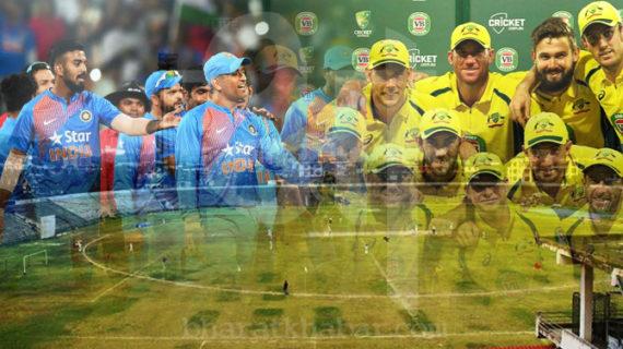 दूसरा टी-20 खेलने गुवाहाटी पहुंची भारत-ऑस्ट्रेलिया टीम