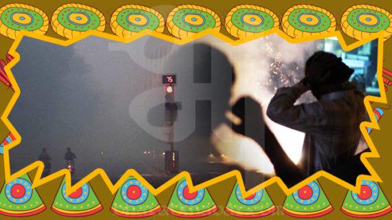 दिवाली पर पटाखे और प्रदूषण