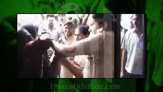 महिला दारोगा की दबंगई का मामला, ग्रामीण महिलाओं को जड़े थप्पड़