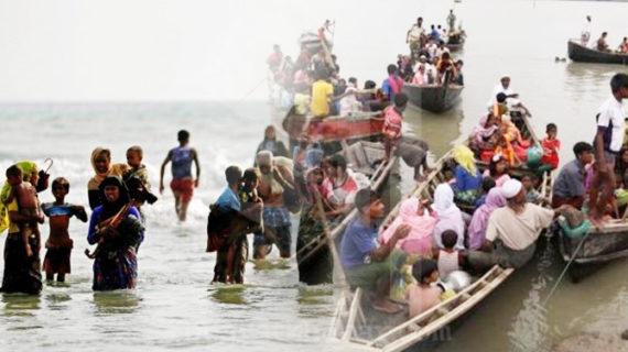 म्यांमार से भागे 12 रोहिंग्या शरणार्थियों की नफ नदी में डूबने से मौत