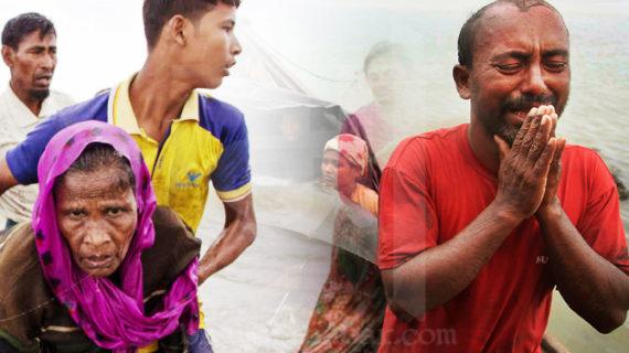 रोहिंग्या मुसलमानों से भरी नाव नफ नदी में डूबी, आठ लोगों की मौत