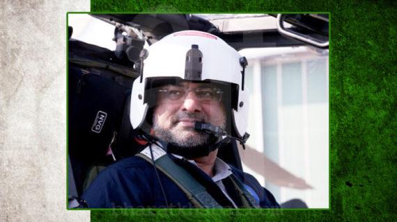 शाहिद खकान अब्बासी सैन्य हेलिकॉप्टर उड़ाने वाले पाक के पहले प्रमुख बने