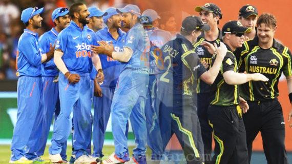 भारत-ऑस्ट्रेलिया के बीच आज खेला जाएगा पहला टी-20, बारिश के आसार