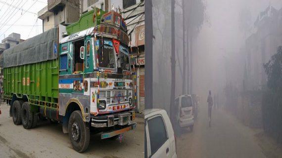 कोहरे के कारण पंजाब में हादसा, तेज रफ्तार ट्रक ने नौ छात्रों को कुचला