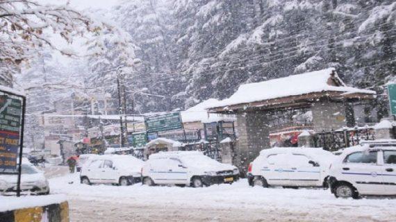 हिमपात के कारण श्रीनगर-लेह राष्ट्रीय राजमार्ग पर आवाजाही बंद