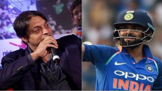 पाक गेंदबाज शोएब अख्तर ने की कोहली की तारीफ,कहा- कोहली बेहतरीन बल्लेबाज