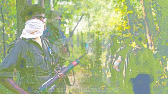झारखंड: मुठभेड़ में 4 नक्सली ढेर, मारा गया 2 लाख का इनामी नक्सली