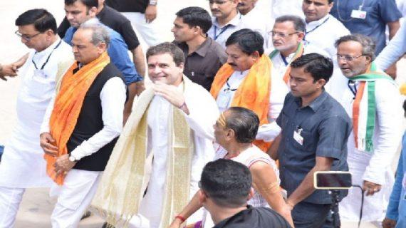 गुजरात दौरे के दूसरे दिन भी मंदिर के दर्शन करेंगे राहुल गांधी, उसी शहर में अमित शाह भी होंगे
