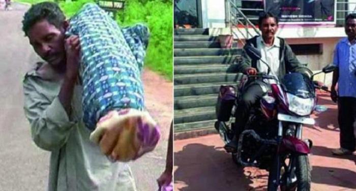 Dana Majhi 1512625828 सालभर पहले पत्नी के शव को कंधे पर ढोने वाले दाना मांझी की बदली जिंदगी, खाते में जमा लाखों रुपये