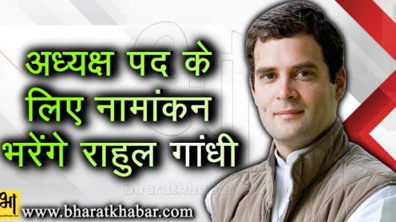 5 और 6 दिसंबर को फिर गुजरात दौरे पर होंगे राहुल, अध्यक्ष बनने के लिए भरेंगे नामांकन