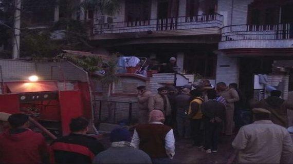 जयपुर के एक घर में लगी आग, एक ही परिवार के पांच लोगों की मौत