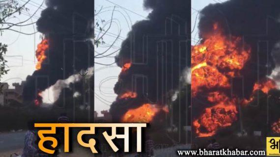 हैदराबाद में पैट्रोल पंप पर डीजल टैंक में विस्फोट होने से हुआ भीषण हादसा, कई लोग घायल