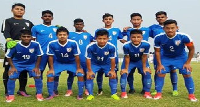 indian under 16 football team