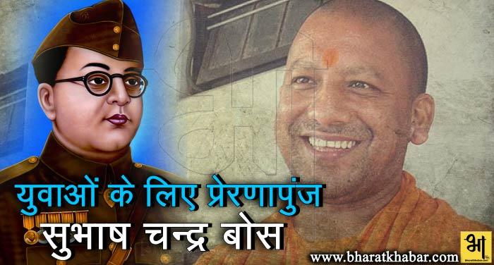yogi and Subhash Chandra Bose