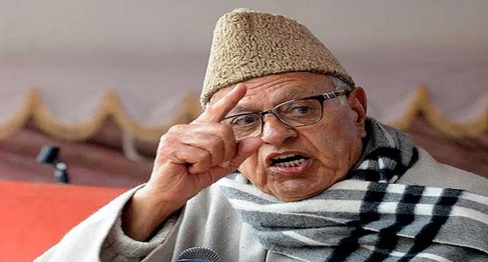 Farooq Abdullah कटियार के बयान पर फारूक का पलटवार, ये देश तुम्हारे बाप का है क्या?