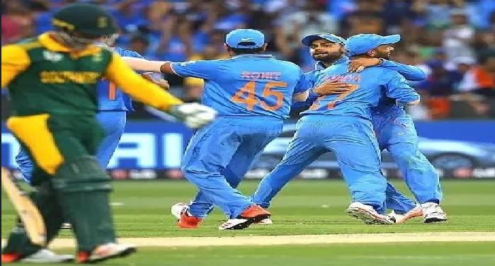 india team win